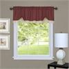 Darcy Window Curtain Valance 58x14 - Marsala/Tan