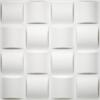 Achim Donny Osmond Basket Weave 19.6x19.6 Self Adhesive Wall Tile - 10 Tiles/26.70 sq Ft.