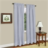 Achim Buffalo Check Window Curtain Panel - 42x63 - Grey