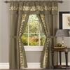 Achim Fairfield 5 Piece Window Curtain Set - 55x63 - Taupe