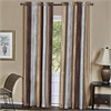 Ombre Window Curtain Panel 50x84 - Chocolate