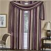 Achim Ombre Window Curtain Scarf 50x144 - Aubergine