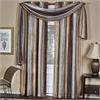 Achim Ombre Window Curtain Scarf 50x144 - Chocolate