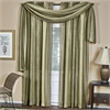 Achim Ombre Window Curtain Scarf 50x144 - Sage