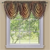 Achim Ombre Waterfall Valance - Autumn