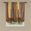 Achim Ombre Window Curtain Tie Up Shade 50x63 - Autumn