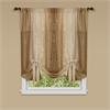 Achim Ombre Window Curtain Tie Up Shade 50x63 - Sandstone