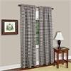 Achim Buffalo Check Window Curtain Panel - 42x63 - Chocolate