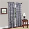 Buffalo Check Window Curtain Panel - 42x84 - Navy