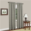 Buffalo Check Window Curtain Panel - 42x63 - Sage