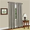 Achim Buffalo Check Window Curtain Panel - 42x84 - Taupe