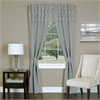 Achim Trellis - 5 Piece Window Curtain Set - 55x84 - Silver