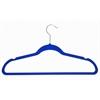Achim Velvet Anti-Slip Hangers - Blue