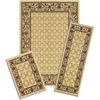 Achim Capri 3 Piece Rug Set - Golden Lattice