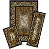 Achim Capri 3 Piece Rug Set - Leopard Skin