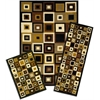 Achim Capri 3 Piece Rug Set - SW Tiles