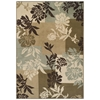 Achim Easton Collection Area Rug - Floral Boxes