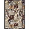 Ferrera Collection Area Rug - Cheetah
