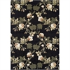 Ferrera Collection Area Rug - Lily (Black)