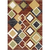 Ferrera Collection Area Rug - Argyle