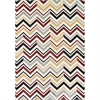 Ferrera Collection Area Rug - Chevron