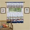 Achim Fruity Tiles Tier and Valance Window Curtain Set - 58x36 - Multi