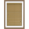 "Achim Madera Falsa 2"" Faux Wood Plantation Blind 35x64 - Maple"