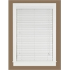 "Madera Falsa 2"" Faux Wood Plantation Blind 31x64 - White"