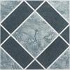 Achim Nexus Light & Dark Blue Diamond Pattern 12x12 Self Adhesive Vinyl Floor Tile - 20 Tiles/20 sq Ft.