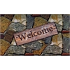 Achim Welcome Quarry Stones Outdoor Rubber Entrance Mat 18 in. x 30 in.