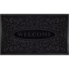 Achim Welcome Mat 18x30 Swirl - Black
