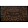 Welcome Mat 18x30 Swirl - Coffee