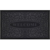 Achim Welcome Mat 18x30 Swirl - Grey