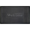 Welcome Mat 18x30 Geometric - Grey