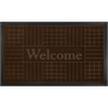 Achim Welcome Mat 18x30 Geometric - Coffee