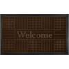 Welcome Mat 18x30 Geometric - Coffee