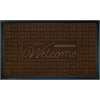 Achim Welcome Mat 18x30 Parquet - Coffee