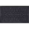 Welcome Mat 18x30 Wrought Iron - Grey