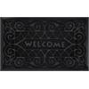 Achim Welcome Mat 18x30 Wrought Iron - Black