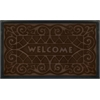 Achim Welcome Mat 18x30 Wrought Iron - Coffee