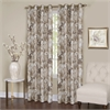 Tranquil - Lined Grommet Window Curtain Panel - 50x84 - Tan