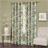 Achim Tranquil - Lined Grommet Window Curtain Panel - 50x84 -  Green
