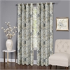 Achim Tranquil - Lined Grommet Window Curtain Panel - 50x63 -  Silver