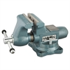 "Wilton Vise, Cast Iron, Tradesman, 6 1/2"" Jaw Opening, 6 1/2"" Jaw Width, 70.95 Pounds"