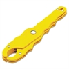 "Ideal Medium Safe-T-Grip Fuse Puller, 7 1/2"" Length, 0-100amp Fuses, Yellow"
