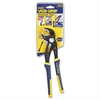 "Groovelock V-Jaw Pliers, 10"" Tool Length, 2 1/4"" Jaw Capacity, Gray/Blue/Yellow"
