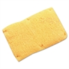 Snap-On Sweatband, Wool, Yellow