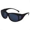 JACKSON SAFETY V50 OTG Safety Eyewear, Black Frame, Shade 5.0 IR/UV Lens