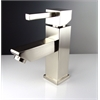 Versa Single Hole Mount Bathroom Vanity Faucet - Brushed Nickel