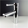 Fresca Tartaro Single Hole Mount Bathroom Vanity Faucet - Chrome